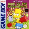 Simpsons Bart vs the Juggernauts Gameboy Game
