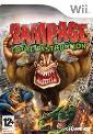 Rampage Total Destruction Wii Game